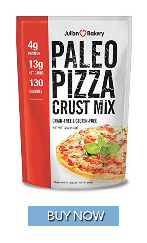 Keto diet friendly pizza crust