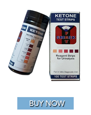 Ketosis test strips