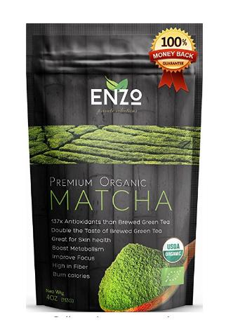 ketogenic diet matcha green tea